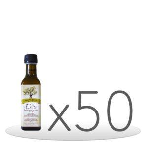 Pack 50 Bottiglie Olio Extravergine di Oliva da 0,10cl