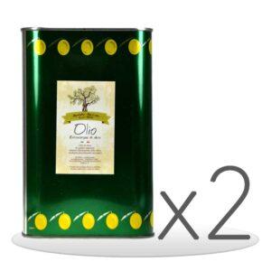 Pack 2 Lattine di Olio Extravergine di Oliva da 3lt