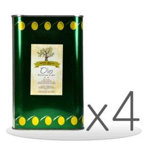 Pack 4 Lattine di Olio Extravergine di Oliva da 3lt